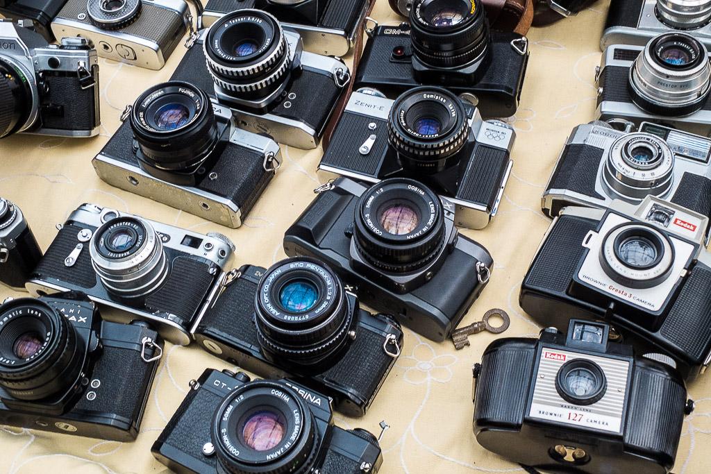Surtido de cámaras